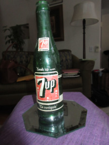 "Vintage 7 Up bottle from Montreal Plant      ""Ca Ravigote"""