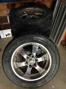 "20"" Eagle alloy rims with Eagle LS tires"