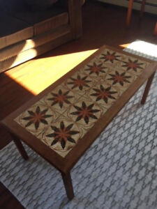 Teak Coffee and End Table