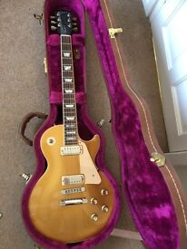 Gibson Les Paul Goldtop Deluxe Ltd Edition 2001