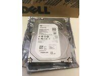 "DL360p G8 1TB 7.2K SATA 3.5/"" Hard Drive// 1 YR WNTY New HP ProLiant DL360e G8"