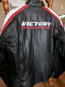Leather Victory motorcycle jacket