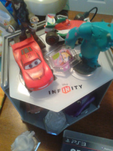 Disney infinity set and ps3 games