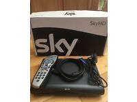 Sky HD box with Sky remote, HDMI lead and Sky remote