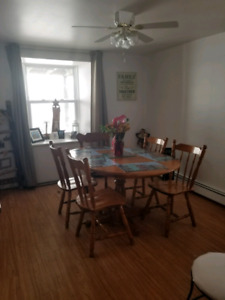 $99 OBO: Dinning set: Table/4 chairs + 1