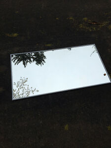 COMMERCIAL/INDUSTRIAL GRADE MIRRORS W STAINLESS TRIM