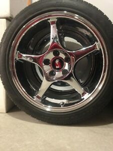 MUSTANG COBRA R *CHROME* aluminum wheels - Authentic Ford Regina Regina Area image 2