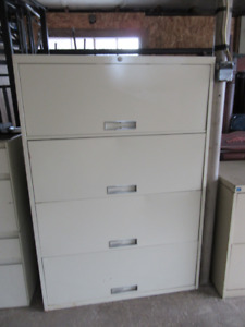 Metal cabinets great for a workshop
