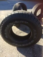Tires for sale. 235/75/15