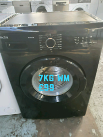 New electra 7kg washing machine free delivery