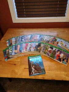 Magic Treehouse series books 1-47 and book 51