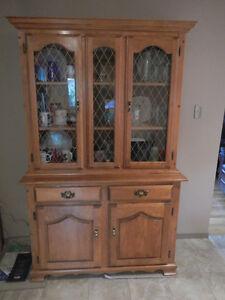 Kitchen China Cabinet w/ glass doors