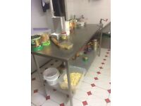 Commercial stainless stand