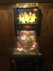 Family Guy Pinball Machine for Sale