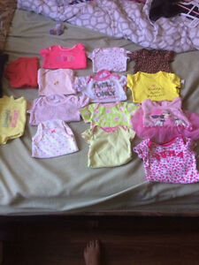 0-3 and 3 month baby girl clothes London Ontario image 5