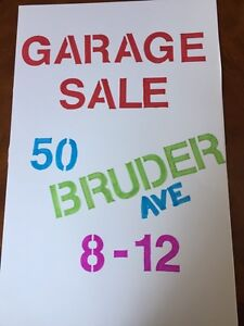 GARAGE/YARD SALE SAT. JUNE 4th BRUDER AVE
