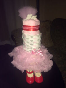 Victoria's Diapers cake .Gift with love...............