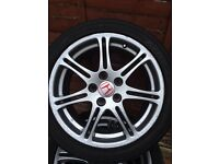 Honda Civic type r alloys ad08 R