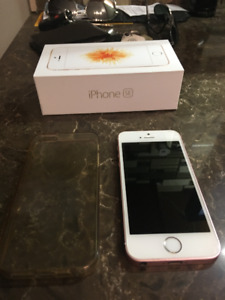 1 or 2 iPhone 5 SE 16 GB for sale. Comes with case and box.