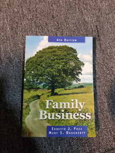 Family Business University/College Textbook 4th Edition