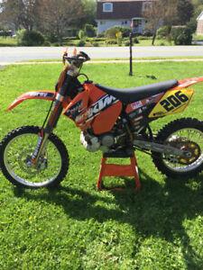 KTM 200 XC Race Ready