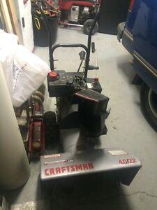 Craftsman 4.0 / 20 snowblower
