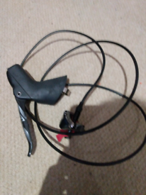 SRAM Force hydraulic left brake lever and caliper flat mount