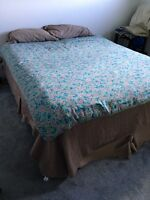 Queen size box spring and mattress FREE
