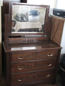 Antique Carved Dresser