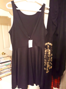 Brand new with tags black dress