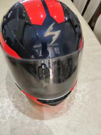 SCORPION MOTORCYCLE HELMET. LIKE NEW