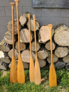 2 sets of oars/paddles and a spare.