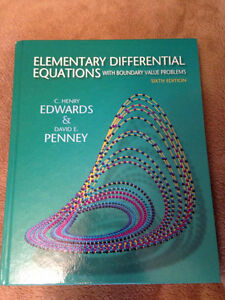 Elementary Differential Equations w/ Boundary Value Problems 6E
