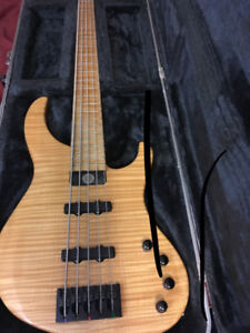 Genesis by Modulus and Yamaha rbx-260 bass
