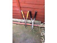 Two garden shears