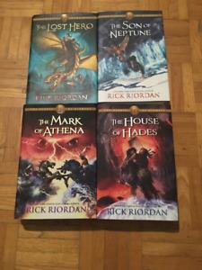 The Heroes of Olympus saga by Rick Riordan