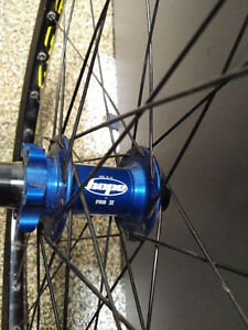Wheelset -  Hope Pro II hubs with mavic 823 rims
