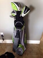 Womens Lefty Dunlop Loco G series golf set With shoes OBO