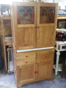 Mint condition 1940s kitchen Pantry.