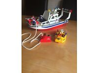 Playmobil Rescue Boat.