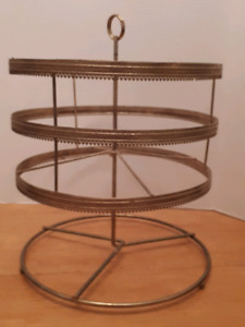 Antique retail display stand