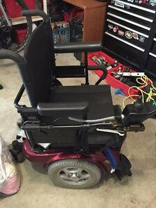 Invacare power wheelchair