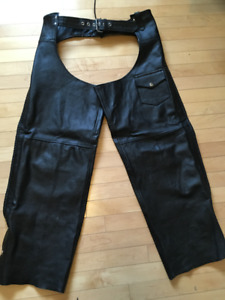 Leather Chaps Size XL