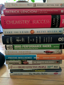 Motivation and self help books