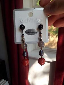 LE CHATEAU Semi-Precious Stone Earrings London Ontario image 1