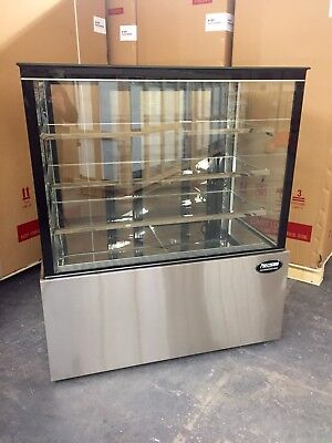 Bakery Case Refrigerated Pastry Deli 4 Display Case 48 Cake Show Case New