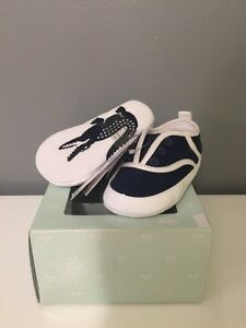 Lacoste baby crib shoes size 3 London Ontario image 1