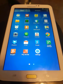 "SAMSUNG GALAXY TAB 2 WHITE COLOUR AND 7"" INCH"