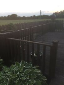 Secondhand wooden decking