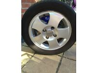 "Set Of Four Fiesta 14"" Alloy Wheels"
